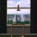 magritte easel
